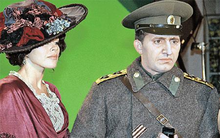 Сергей Бурунов в образе Хабенского-Колчака.
