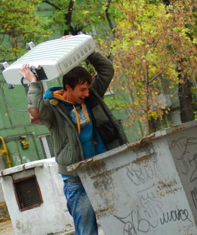 Прощай, обогреватель! Фото Ирины МАКУШИНСКОЙ.