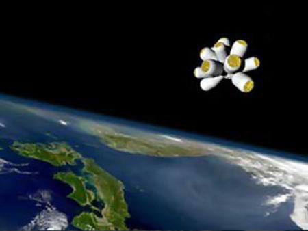 Так будет выглядеть космическая гостиница. Фото: www.galacticsuite.com.