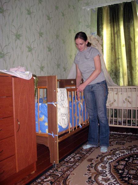 Мама Наташа: - Детки у нас спокойные.