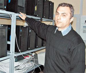 Леонид Левчук: «Ускоритель еще не работает, но данные уже приходят и хранятся на наших дисковых серверах».