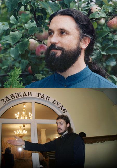 Когда-то баскетболист только самых верных. Леонид Стефанишин (внизу) поверил в уникальность Моисея (вверху). Теперь он стоит за пастора горой.