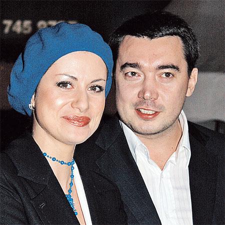 Анна счастлива со вторым мужем Олегом Капустиным.