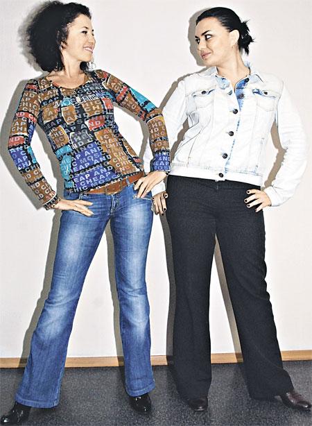 Аня (слева) и Катя.