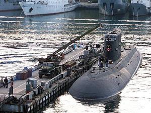 «Алроса» - единственная боеспособная подлодка Черноморского флота РФ.