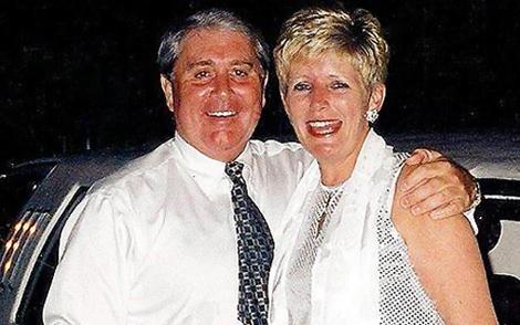 Брайн Томас и его жена Кристина до трагедии.