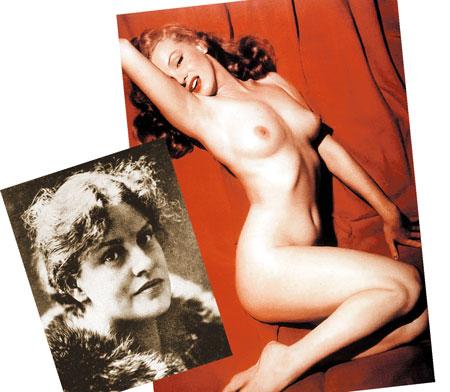 Лу Саломе - роковая муза Ницше, Рильке и Фрейда. Внешне куда скромнее, чем Мэрилин Монро (на фото справа), а сколько сердец разбила!