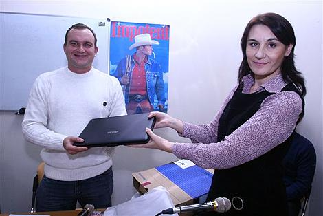 Победитель Александр Живилик.