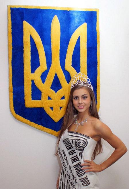 19-летняя королева Вероника Вовчук. Фото предоставлено пресс-службой STAR model group.