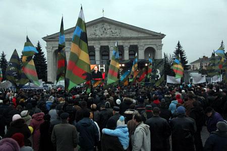 В Черниговской области с лидером «Фронта перемен» смогли вживую пообщаться шесть тысяч человек.