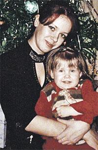 Ирина с племянницей. Она очень любила детей...