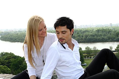 Дима и Лена пострадали из-за западных папарацци. Фото: Екатерина КОШЕЛЕВА.