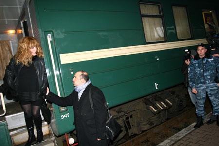 Вагон Примадонны доехал в Киев без приключений.