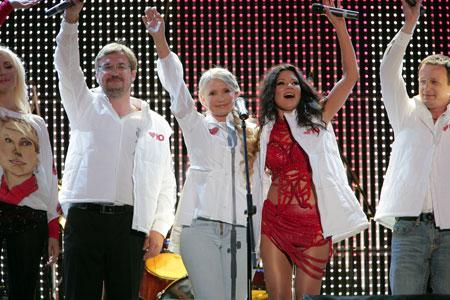 Звезды украинской эстрады презентовали видео на песню «Червоне серце».