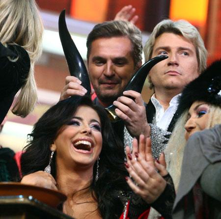 Басков явно не одобрил шалости Пономарева и Лорак.