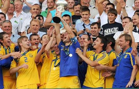 Украинские юниоры - лучшие на континенте!