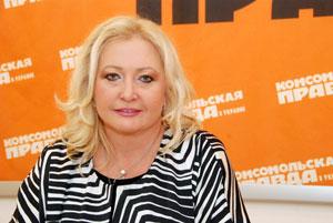 Исполнительный продюсер проекта «Рождественские встречи» Валентина Басовская.