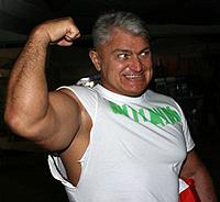 Сильнейший в мире гладиатор, в жизни Турчинский силе предпочитал хорошую шутку. Фото из архива «КП».