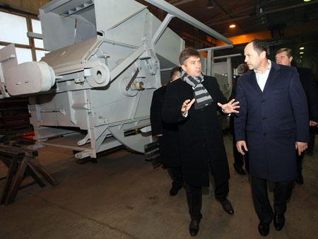Директор украинско-германского предприятия «Олнова» рассказывает, что их уникальное оборудование заказывают многие европейские страны. В Украине оно не востребовано.