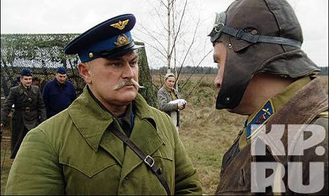 Владимир играл капитана Калачева. Фото: Star Media Pro.