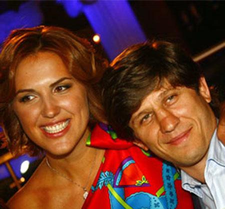 Олимпийские чемпионы - Эльбрус Тедеев и Яна Клочкова - друзья в жизни.