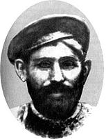 Отец Сталина сапожник Виссарион Джугашвили. Единственное фото.