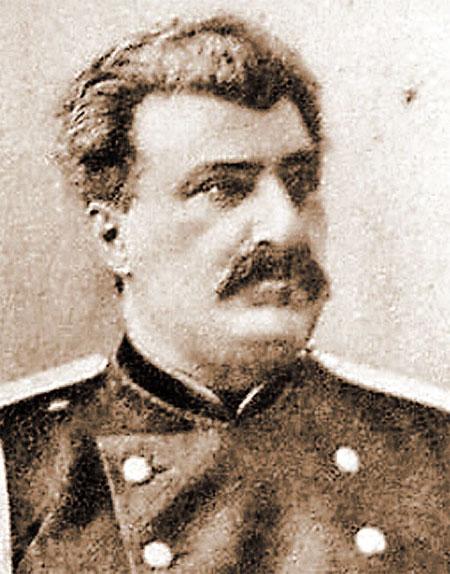 Его почему-то считают отцом Сталина - генерал, географ и разведчик Николай Пржевальский.