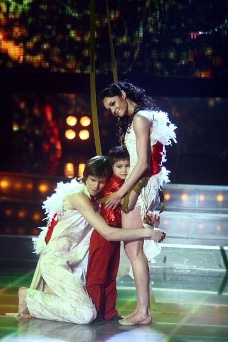 Бессонова и Лещенко исполнили мечту маленького Давида.