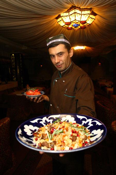 Фарход Саматов: - Плов украсит любое торжество.