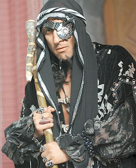 Типаж Нагиева идеально подошел к роли главаря разбойников.