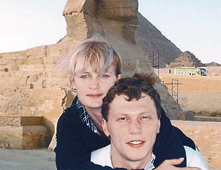 Андрей и Юля Пятовы любят летать в гости к пирамидам.