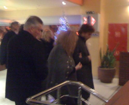 Алла и Максим уходили с премьеры чрезвычайно довольные увиденным. Фото: Елена ЛАПТЕВА