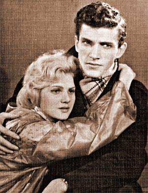 Эммануил Виторган с первой женой Тамарой Румянцевой.