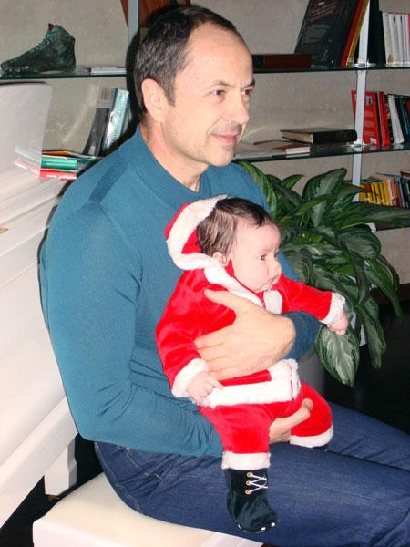 Первый Новый год младшего сына Леонтия.