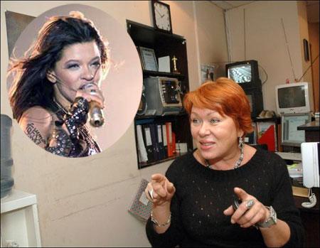 Нина Аркадьевна всегда встречает Руслану во Львове накрытым столом.