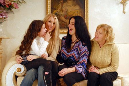 Вся женская часть семьи Влады обожает бабушкину стряпню.