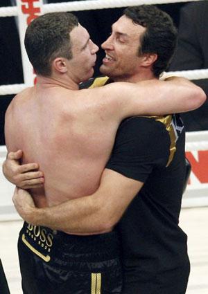 Братьям Кличко нет равных на ринге…