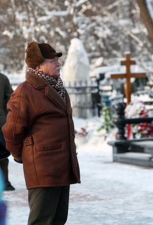 Сергей Никоненко до сих пор переживает кончину друга. Фото: Мила СТРИЖ.