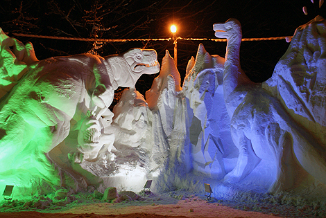 Скульптура поразила москвичей своими размерами.