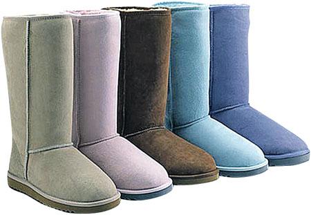 Угги могут быть любого цвета, главное – чтобы они присутствовали в гардеробе.