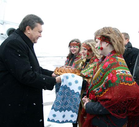 Теплая встреча во Львове.