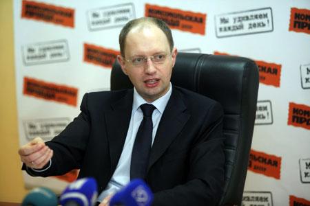 «Я хочу возглавить процесс изменений в стране, а возглавить его можно только в должности президента страны», - уверен Арсений Яценюк.