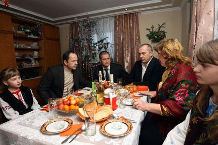 В большой семье Терендиев всегда рады гостям.