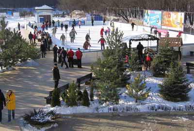 В Тоннельной балке теперь целый комплекс зимних развлечений.