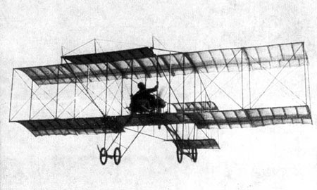 «Фарман-4» - 100 лет назад.