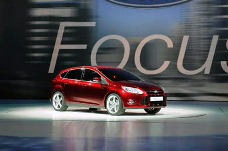 Глобальный Ford Focus - звезда автошоу.