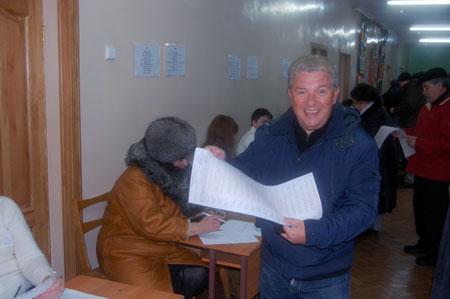 Филимонов: - Выбирать президента надо с улыбкой.