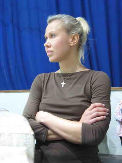 Оксана Баюл. Фото автора.