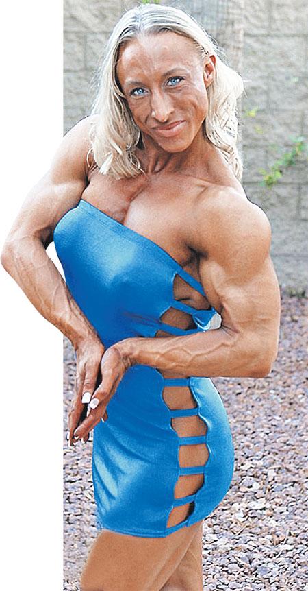 Какие же мышцы должны быть у бойфренда этой культуристочки?