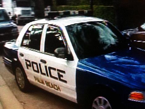 Место происшествия обследовала полиция Палм-Бич. Фото: WPTV.